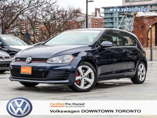 Used 2016 Volkswagen GTI GTI MANUAL LOW MILEAGE for sale in Toronto, ON