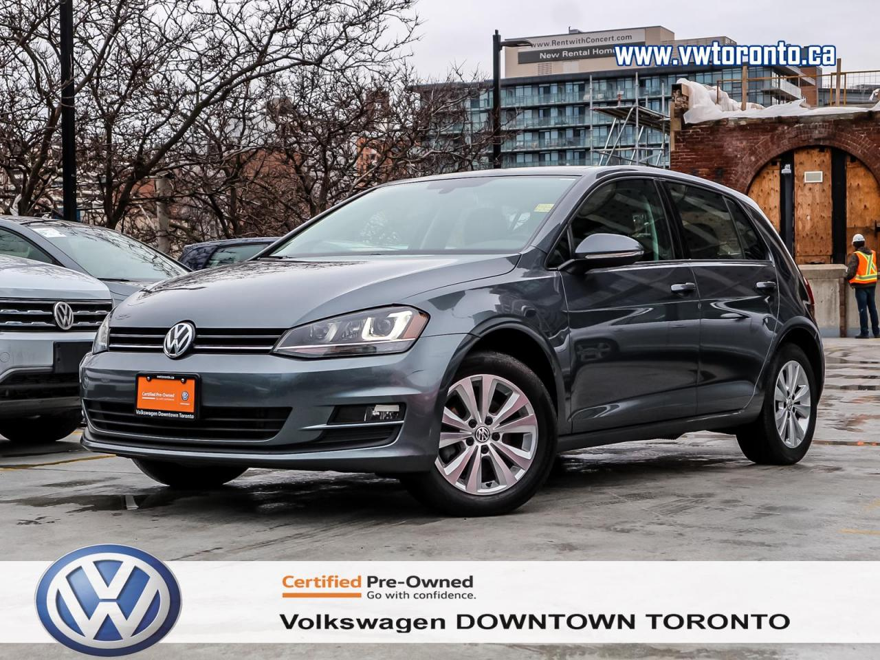 Volkswagen Downtown Toronto >> Used 2015 Volkswagen Golf Comfortline Convenience Multimedia