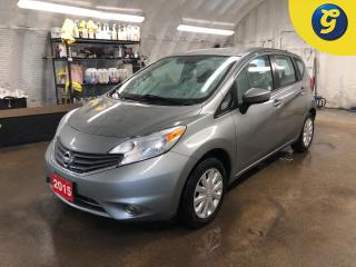 Used 2015 Nissan Versa Note SV *  Back up camera * Nissan connect touchscreen * Phone connect * Voice recognition * Heated mirrors * Hands free steering wheel controls * for sale in Cambridge, ON