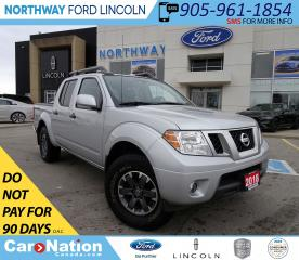 Used 2018 Nissan Frontier PRO-4X | NAV | PWR HTD LEATHER | SUN ROOF | for sale in Brantford, ON