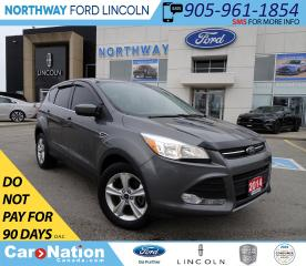 Used 2014 Ford Escape SE | BACK UP CAM | KEYLESS ENTRY | FOG LAMPS | for sale in Brantford, ON