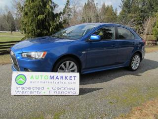 Used 2009 Mitsubishi Lancer Ralliart Ralliart, AWD, TURBO, INSP, BCAA MBSHP, WARR, FINANCE for sale in Surrey, BC
