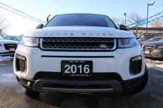Used 2016 Land Rover Range Rover Evoque HSE accident free for sale in Brampton, ON