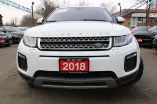 Used 2018 Land Rover Range Rover Evoque SE ACCIDENT FREE for sale in Brampton, ON