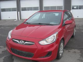 Used 2013 Hyundai Accent Accent 5 GL Un seul propriétaire for sale in St-Hyacinthe, QC
