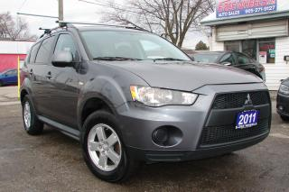 Used 2011 Mitsubishi Outlander ES for sale in Mississauga, ON
