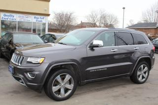 Used 2015 Jeep Grand Cherokee Overland for sale in Brampton, ON