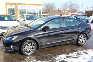 Used 2019 Hyundai Elantra Luxury Leather Sunroof for sale in Brampton, ON