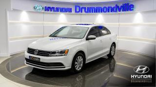Used 2016 Volkswagen Jetta COMFORTLINE + GARANTIE + MAGS + TOIT + C for sale in Drummondville, QC