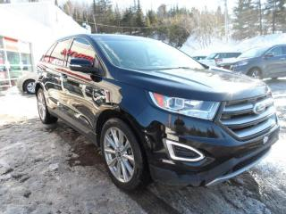 Used 2018 Ford Edge Titanium AWD GPS TOIT PANO CUIR for sale in Val-David, QC
