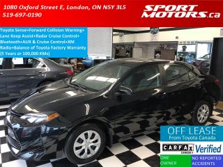 Used 2017 Toyota Corolla CE+Toyota Sense+Lane Departure Warning+A/C for sale in London, ON