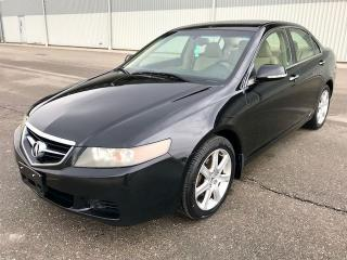 Used 2004 Acura TSX M/T for sale in Mississauga, ON