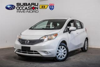 Used 2015 Nissan Versa Note SV BLUETOOTH+A/C+CAM for sale in Boisbriand, QC
