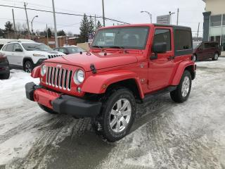 Used 2016 Jeep Wrangler 4 RM 2 portes Sahara for sale in Sherbrooke, QC