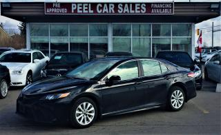 Used 2018 Toyota Camry SE|LEATHER|REARVIEW|ALLOYS for sale in Mississauga, ON