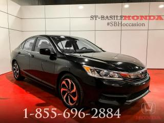 Used 2016 Honda Accord LX + BLUETOOTH + CRUISE + MAGS + WOW !!! for sale in St-Basile-le-Grand, QC