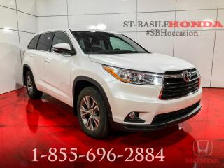 Used 2015 Toyota Highlander LE + AWD + CAMERA + BAS MILAGE !!!! for sale in St-Basile-le-Grand, QC
