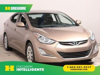 Used 2015 Hyundai Elantra Sport Appearance for sale in St-Léonard, QC