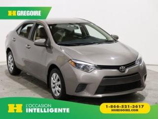 Used 2016 Toyota Corolla LE A/C GR ELECT for sale in St-Léonard, QC