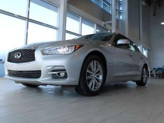 Used 2014 Infiniti Q50 NAVIGATION/ALL WHEEL DRIVE/HEATED SEATS/BACK UP CAMERA/BOSE AUDIO for sale in Edmonton, AB