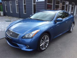 Used 2013 Infiniti G37 Sport for sale in Parksville, BC