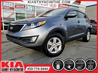 Used 2016 Kia Sportage LX AWD ** SIÈGES CHAUFFANTS / BLUETOOTH for sale in St-Hyacinthe, QC