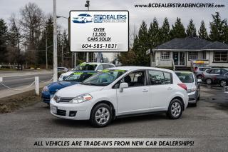 Used 2008 Nissan Versa 1.8 SL, Low 138k, 5-Door Hatch, 14 Service Records for sale in Surrey, BC