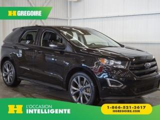 Used 2016 Ford Edge SPORT AWD CUIR-TOIT for sale in St-Léonard, QC