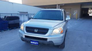 Used 2003 Honda Pilot AWD, 8 Passenger, Leather, Certify, Automatic, 3 y for sale in Toronto, ON
