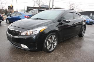 Used 2017 Kia Forte EX+ *LEATHER SUNROOF* for sale in Toronto, ON