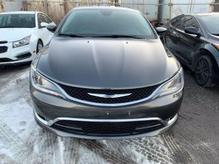 Used 2016 Chrysler 200 C for sale in Brampton, ON