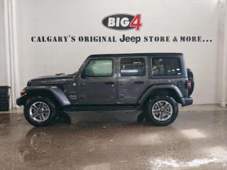 New 2019 Jeep Wrangler Unlimited Sahara for sale in Calgary, AB