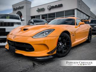 Used 2015 Dodge Viper SRT TA   Sold Thank YOU!!! for sale in Burlington, ON