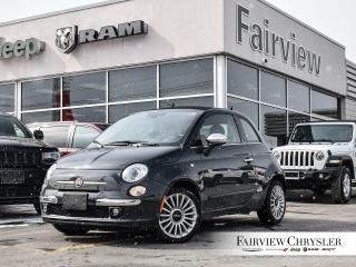 Used 2017 Fiat 500 C Lounge   Convertible   Company CAR   Leather for sale in Burlington, ON