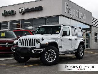 New 2019 Jeep Wrangler Unlimited Sahara for sale in Burlington, ON