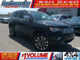 Used 2018 Jeep Grand Cherokee OVERLAND | DIESEL | 4X4 | BLIND SPOT | TOW & MORE! for sale in Milton, ON