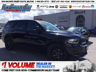 Used 2018 Dodge Durango R/T | HEMI | BLACKTOP | NAV | SUN | CAM & MORE!!! for sale in Milton, ON