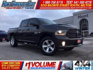 Used 2016 RAM 1500 SPORT | LEATHER | SUN | HOOD | NAV | GOLD PLAN EX for sale in Milton, ON