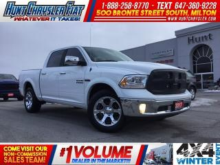 Used 2017 RAM 1500 LARAMIE | PUSH BTN | SUN | NAV | RMT STRT |  DIESE for sale in Milton, ON