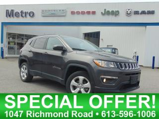 Used 2018 Jeep Compass NORTH 4X4 for sale in Ottawa, ON