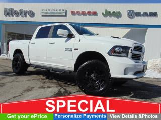 Used 2017 RAM 1500 Sport Rambox, Rims & Low KMs for sale in Ottawa, ON