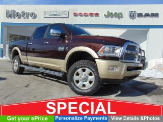 Used 2015 RAM 2500 Longhorn Diesel LOW KMs for sale in Ottawa, ON