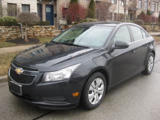 Used 2012 Chevrolet Cruze LT, TURBO, NO ACCIDENTS, CERTIFIED, A1 COND for sale in Toronto, ON
