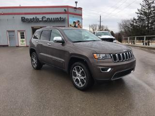 Used 2019 Jeep Grand Cherokee Limited | Leather Trimmed Seats | Navigation | Sun for sale in Mitchell, ON