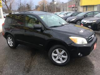 Used 2007 Toyota RAV4 LIMITED/ PWR SUNROOF/ TINTED/ ALLOYS! for sale in Scarborough, ON