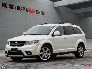 Used 2013 Dodge Journey R/T*DVD*7 Pass*NAV*Camera*AWD*Clean for sale in Mississauga, ON