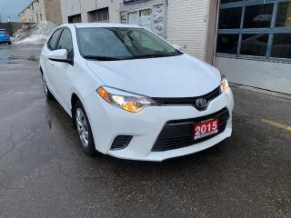 Used 2015 Toyota Corolla LE, BacK-up Camera, No Accidents! for sale in Toronto, ON