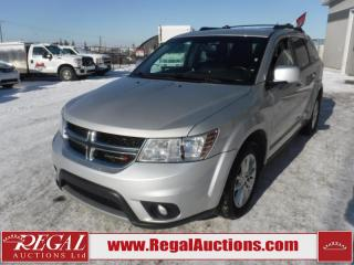 Used 2014 Dodge Journey SXT 4D Utility FWD 7PASS 3.6L for sale in Calgary, AB