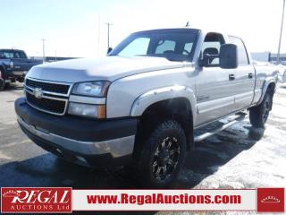 Used 2007 Chevrolet Silverado 2500 HD LT 4D Crew CAB 4WD for sale in Calgary, AB