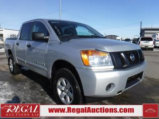 Used 2015 Nissan Titan 4D Crew CAB SWB 4WD for sale in Calgary, AB